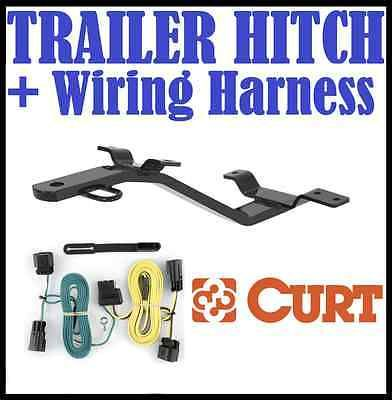 Curt Trailer Hitch & Vehicle Wiring Harness Fits 84-86 ... on electrical harness, pony harness, obd0 to obd1 conversion harness, battery harness, suspension harness, radio harness, maxi-seal harness, amp bypass harness, safety harness, nakamichi harness, engine harness, dog harness, fall protection harness, cable harness, oxygen sensor extension harness, alpine stereo harness, pet harness,