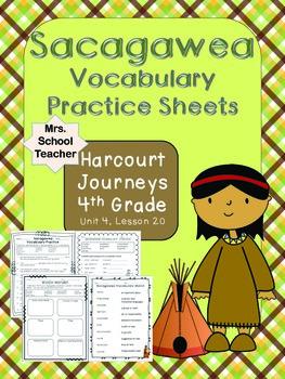 Sacagawea 4th Grade Reading Books 4th Grade Reading Vocabulary Practice