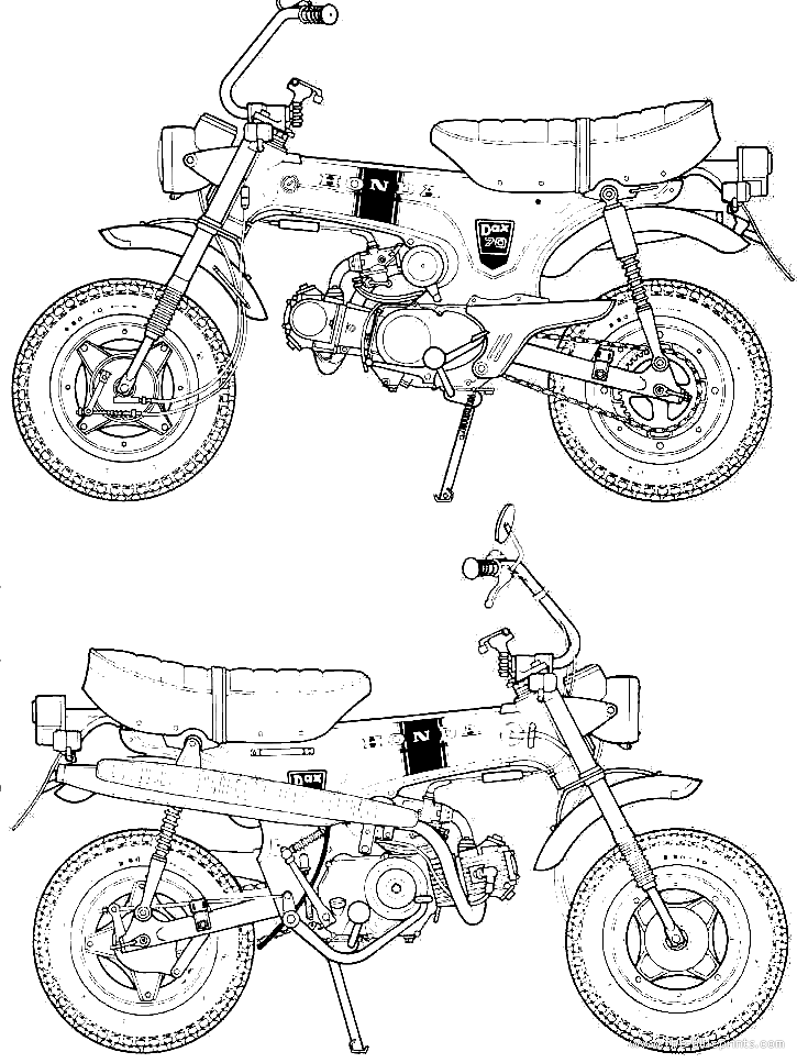 Honda Mini Trail 70 Wiring