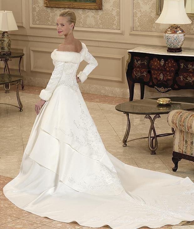 Платье для зимней свадьбы | шикарные платья | Pinterest | Wedding ...