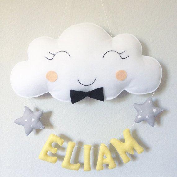 Muchacho de nube de Garland por Crislocreations en Etsy