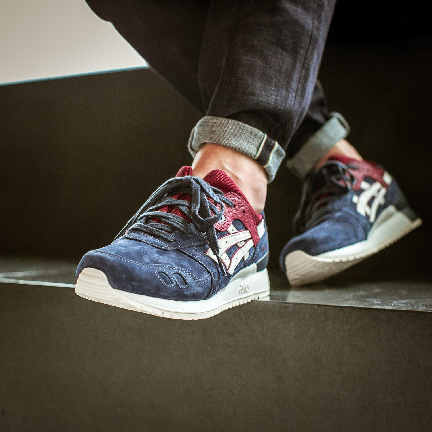 asics gel lyte 1987 deepblue