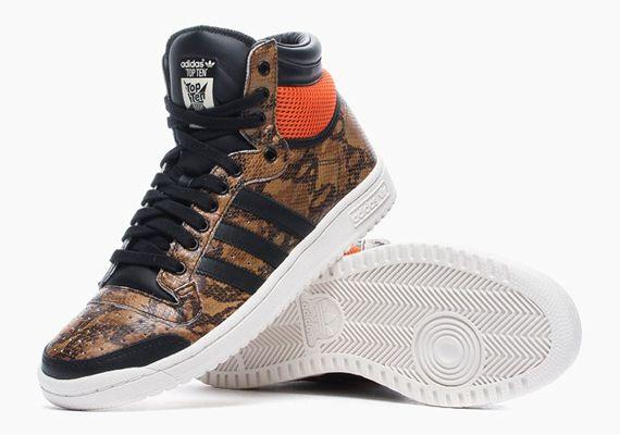 Adidas Originals Top Ten Hi Snakeskin Lux Pack