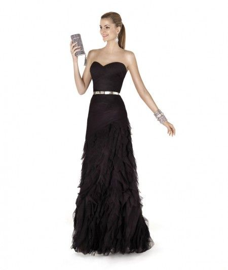 Tulle A Line Evening/Military Ball Dress
