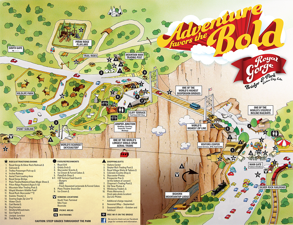 Park Info Royal Gorge Bridge And Park Summer To Do List Places To Travel South Gate
