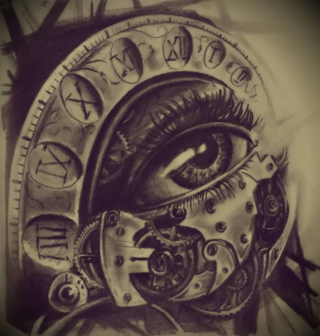 the eye clock design ideas