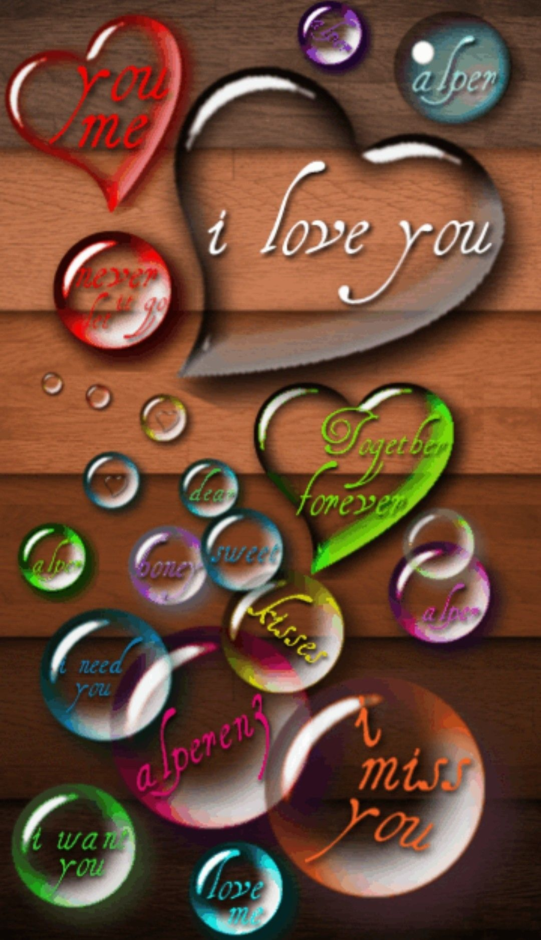 Art Image By Aoku Love Wallpaper For Mobile Love You Gif Full