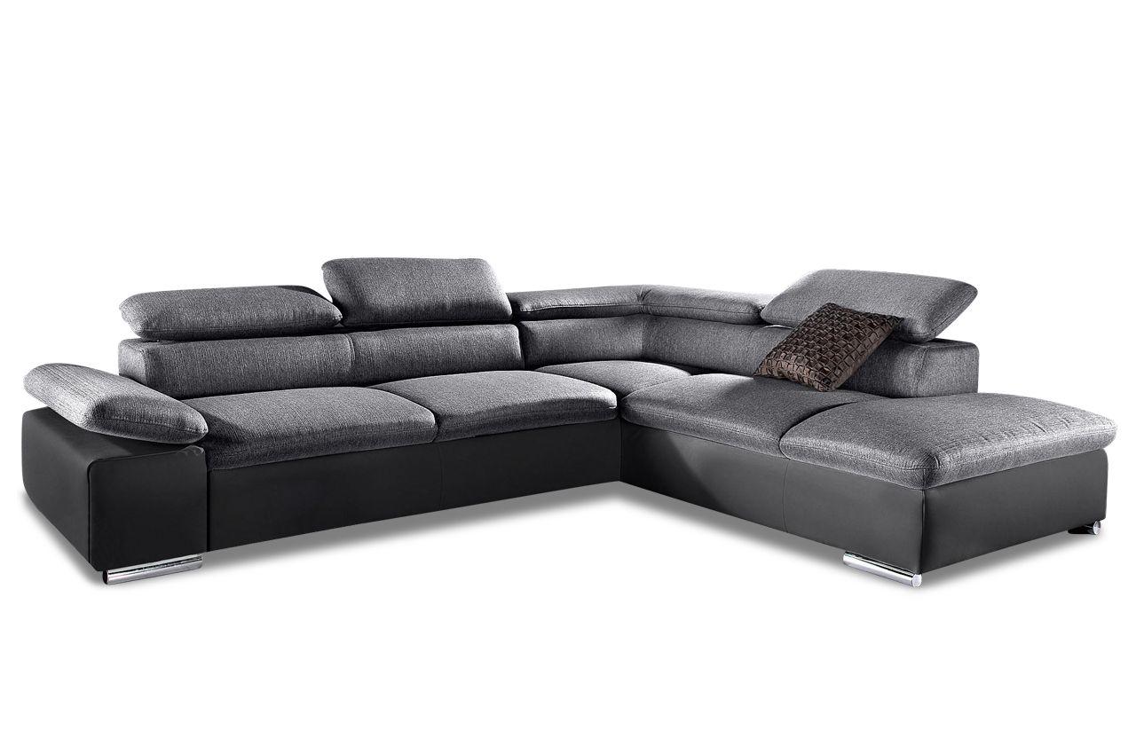 Ecksofa Xl Anthrazit 417 Modern Couch Couch Furniture