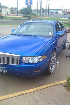 Blue On Swangas Tha Clarke Buick Cars Hot Wheels Cars Buick