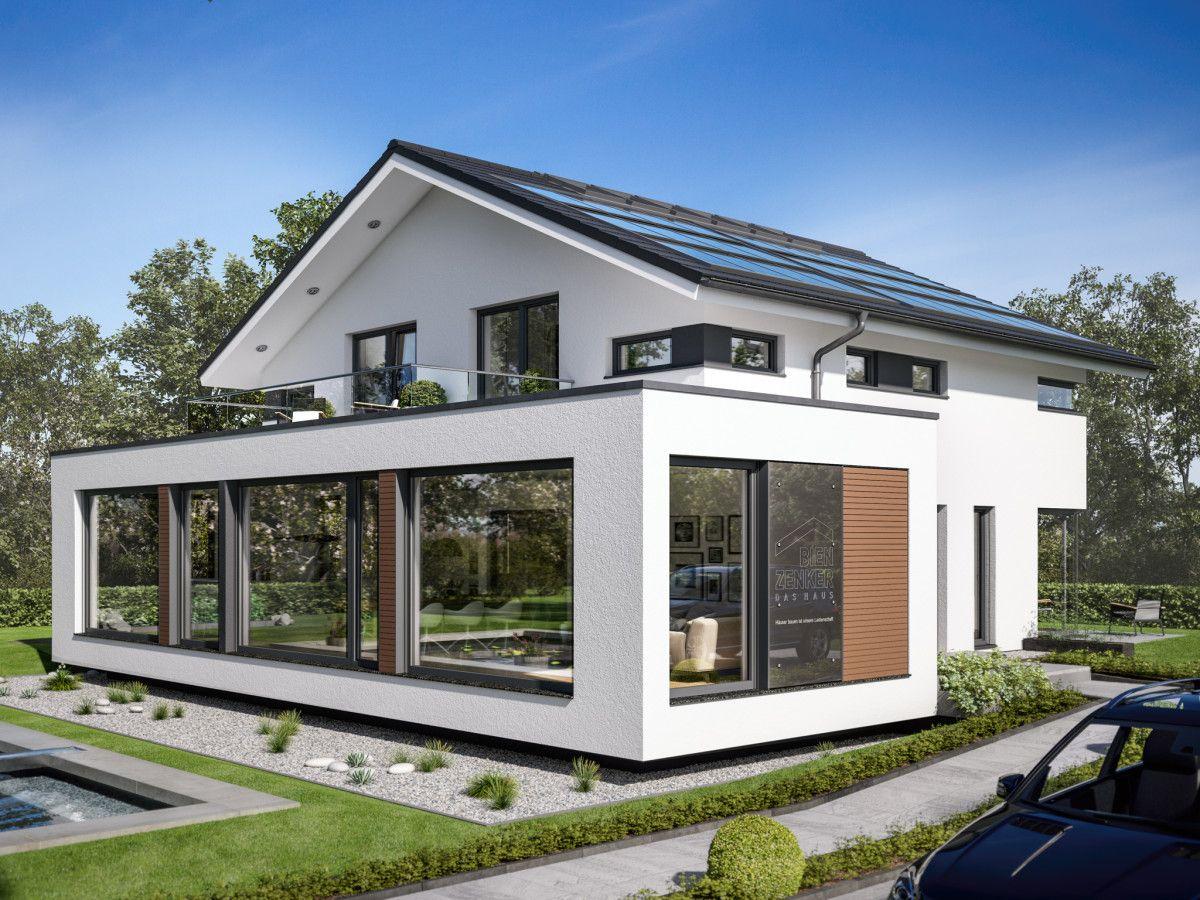Designhaus Mit Satteldach   Haus Concept M 210 Bien Zenker   Fertighaus  Bauen Moderne Architektur