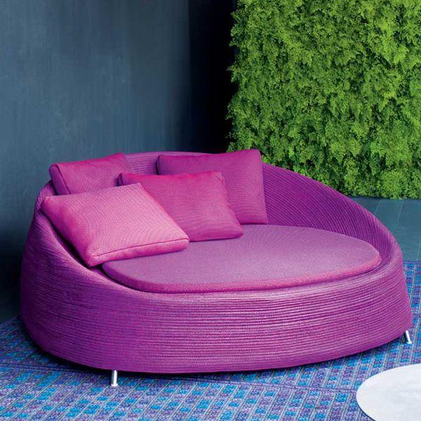 Daybed Afra - design Francesco Rota - Paola Lenti   Furniture ...