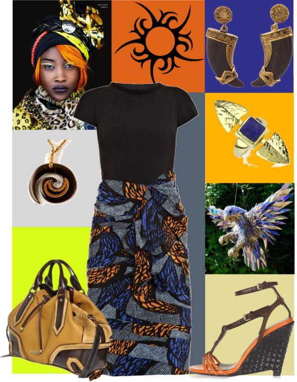 """Tribal Print 1"" by meritza on Polyvore"