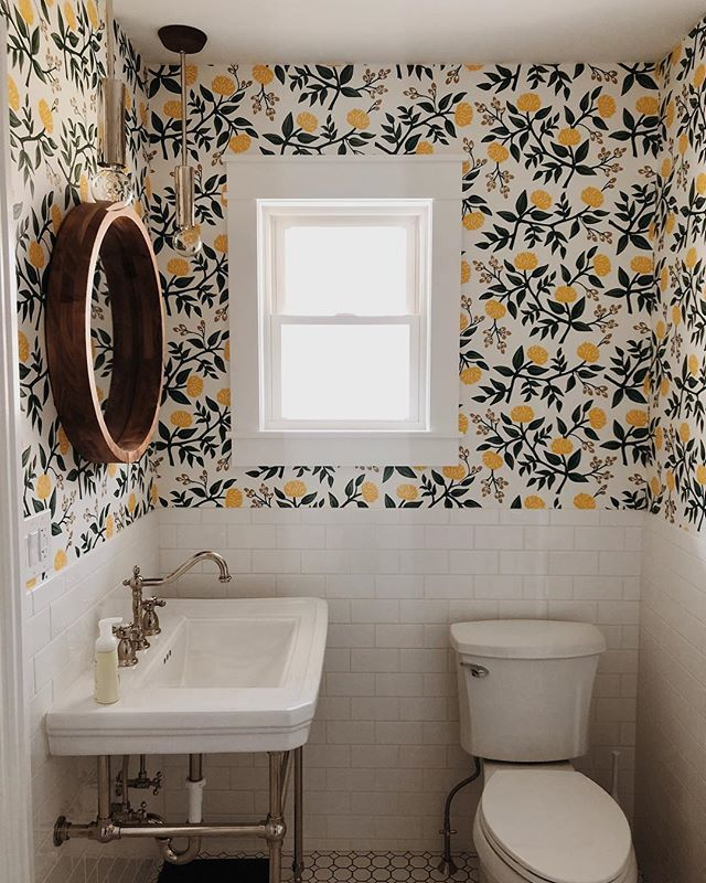 Deema Pretty On Fridays Prettyonfridays Instagram Photos And Videos Wallpaper Your Bathroom Home Decor Inspiration How To Install Wallpaper