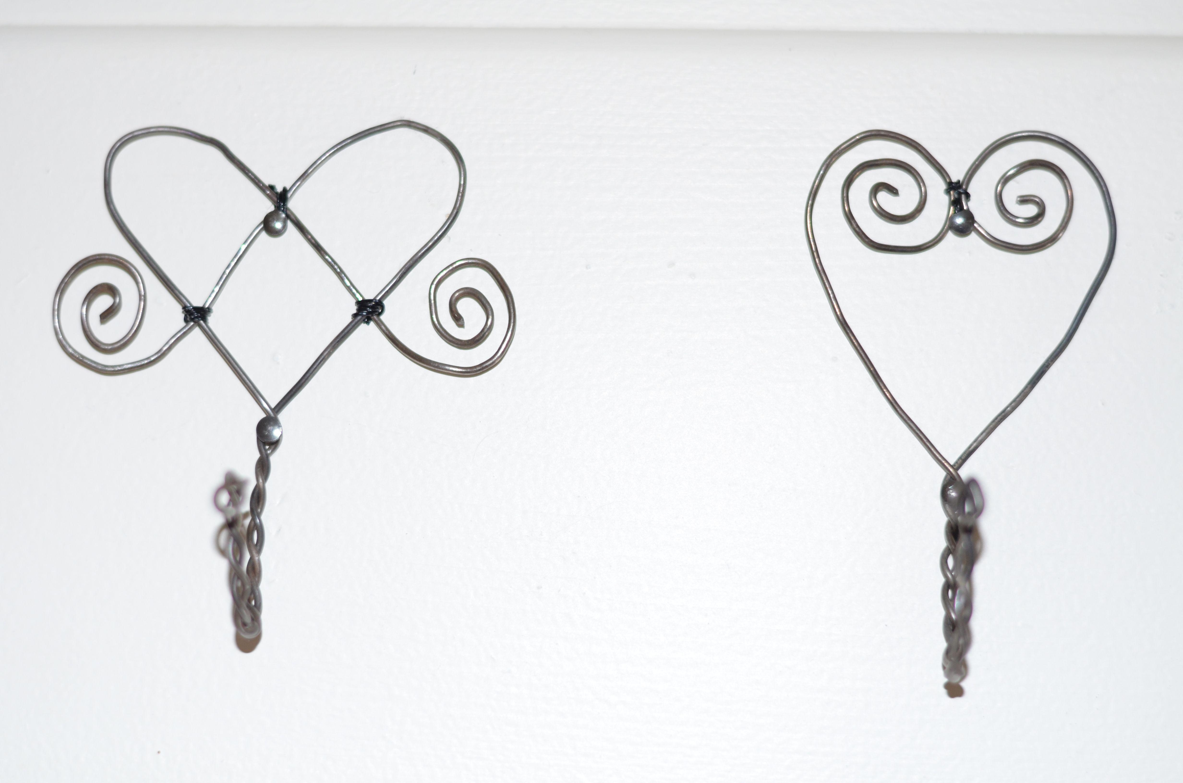 DIY - Luffarslöjd ist eine alte schwedische Drahtbiegekunst. Mit ...