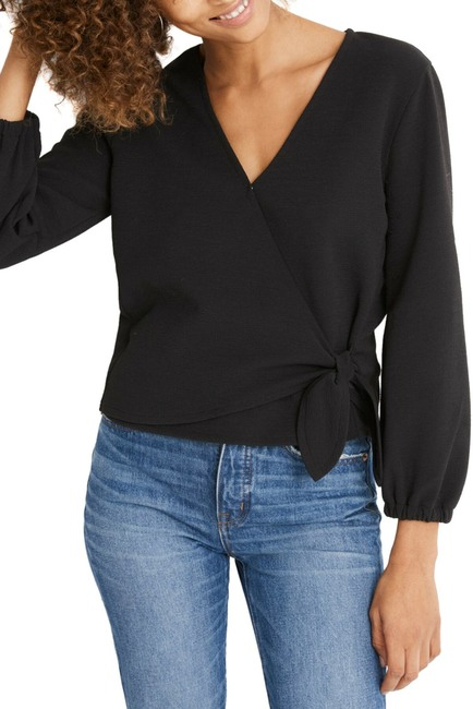 Madewell | Texture & Thread Crepe Wrap Top (Regular & Plus Size #nordstromrack