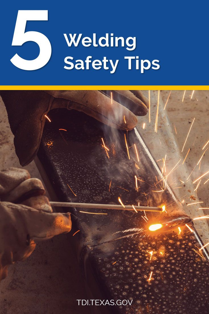 5 Tips for welding safety Welding, Safety tips, Safety