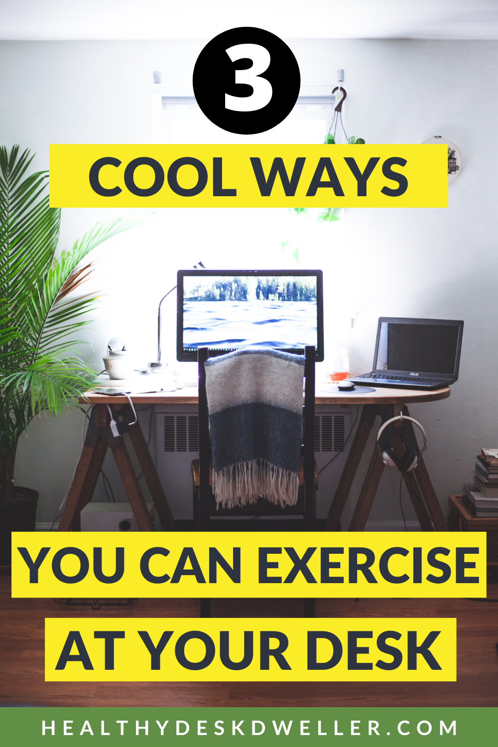 3 Cool Workouts At Your Desk