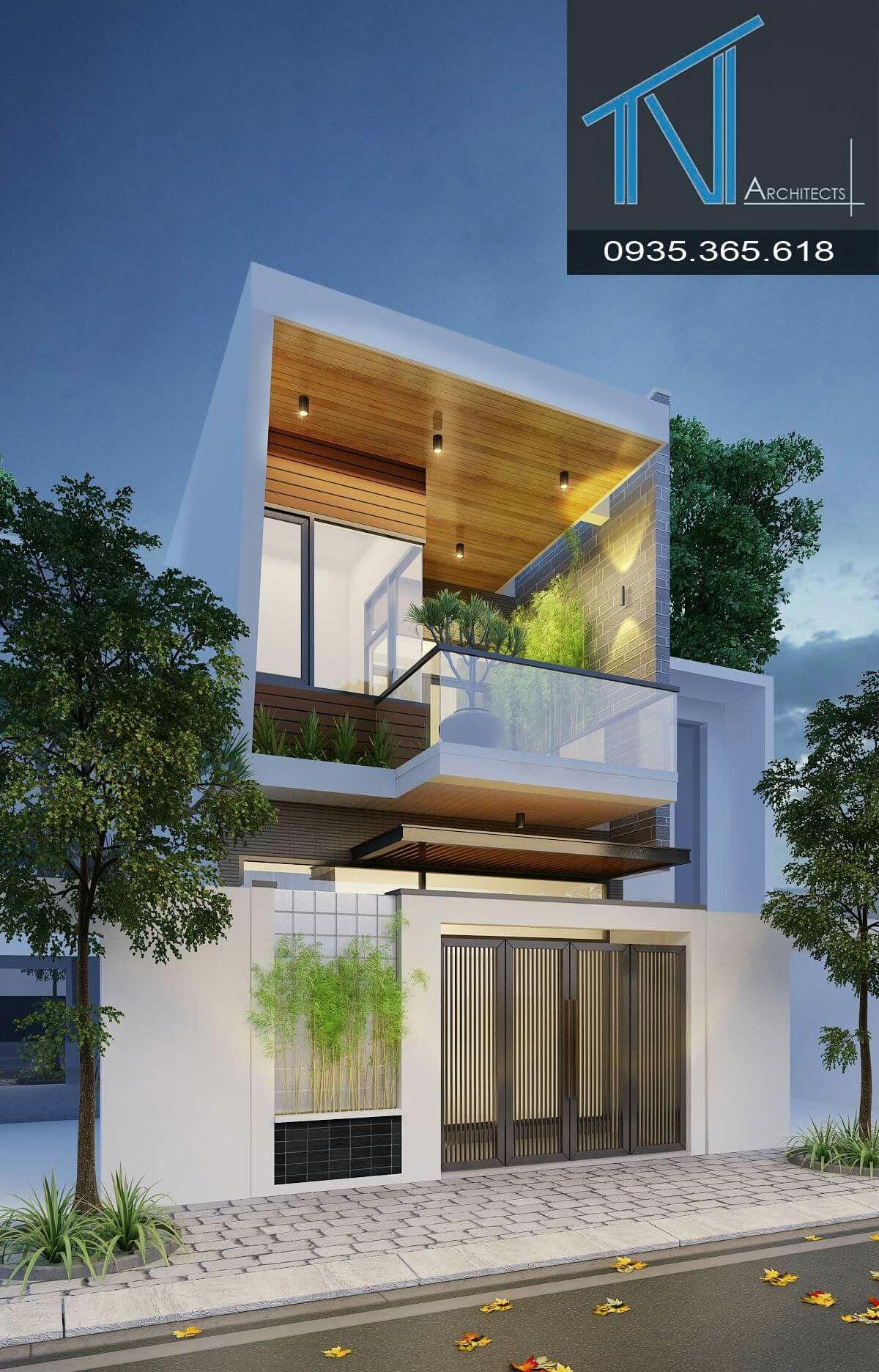 Architektur, Duplex Haus Design, Moderne Häuser, Zeitgenössische Häuser, Kleine  Häuser, Hausfassaden, Badgestaltung, Moderne Architektur, Schmales Haus