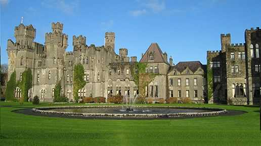 Ashford Castle Hotel again open for business. Photo by Ericci8996/WikiCommons.