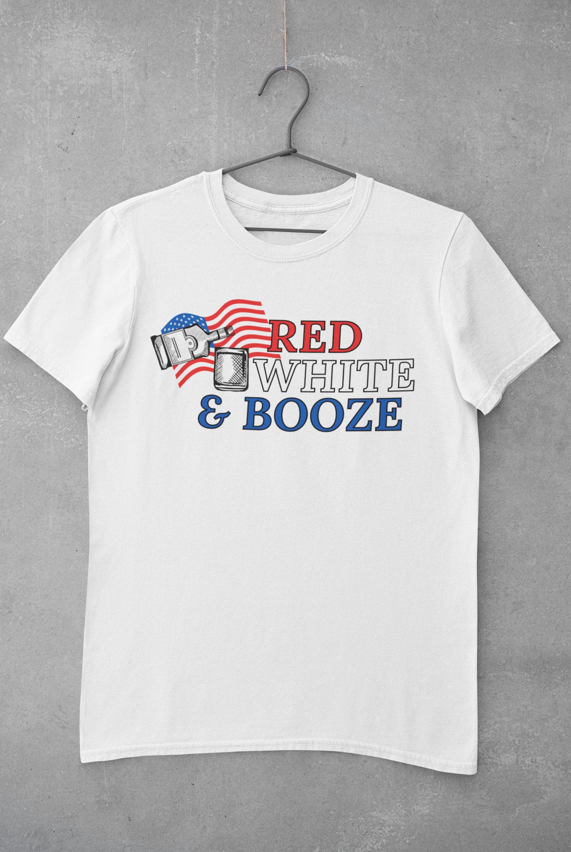 Red White & Booze T-Shirt