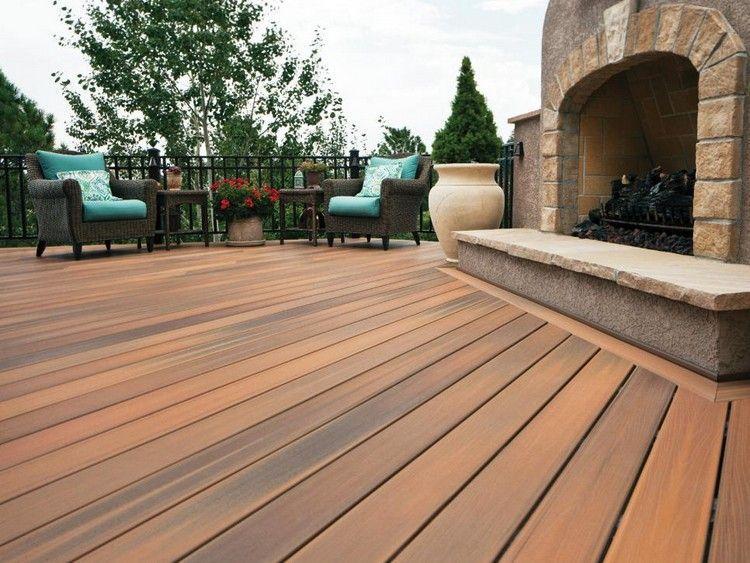 Revêtement terrasse en 40 idées originales pour votre espace outdoor