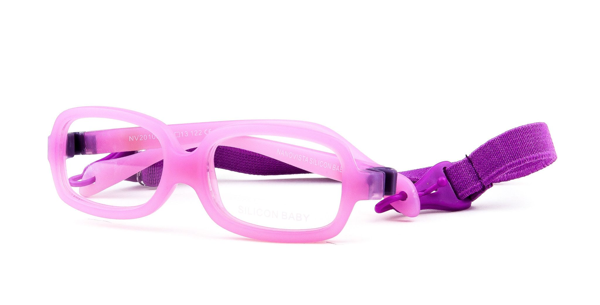 Nanovista Silicon Baby Pink Glasses in Vancouver