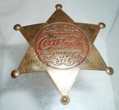 """Vintage Coca Cola, """"You're just a Coca Cola Cowboy"""""""