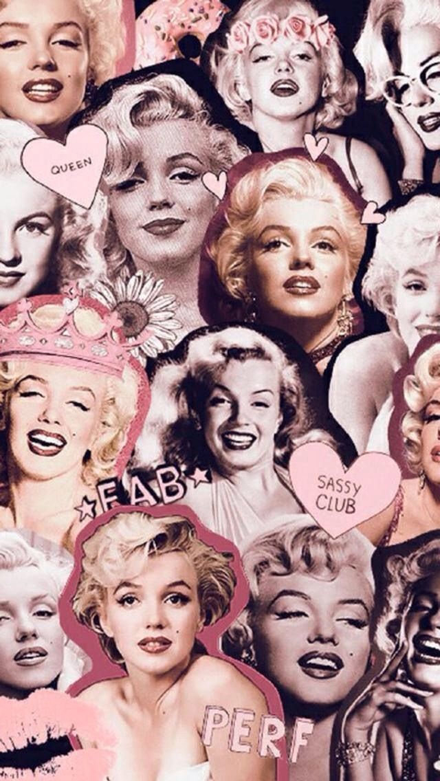 Supreme Marilyn Monroe By Pimpflaco Hipster Wallpaper Supreme Wallpaper Trippy Wallpaper