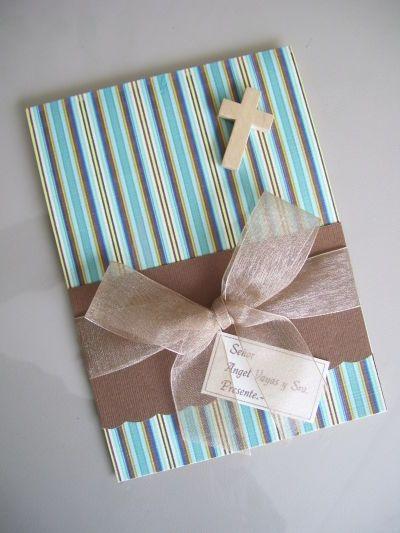 Tarjetas de invitacion para primera comunion buscar con - Hacer tarjetas de comunion ...