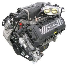 Roush 600 hp Supercharged Coyote 5 0 engine | 1965 mustang 2