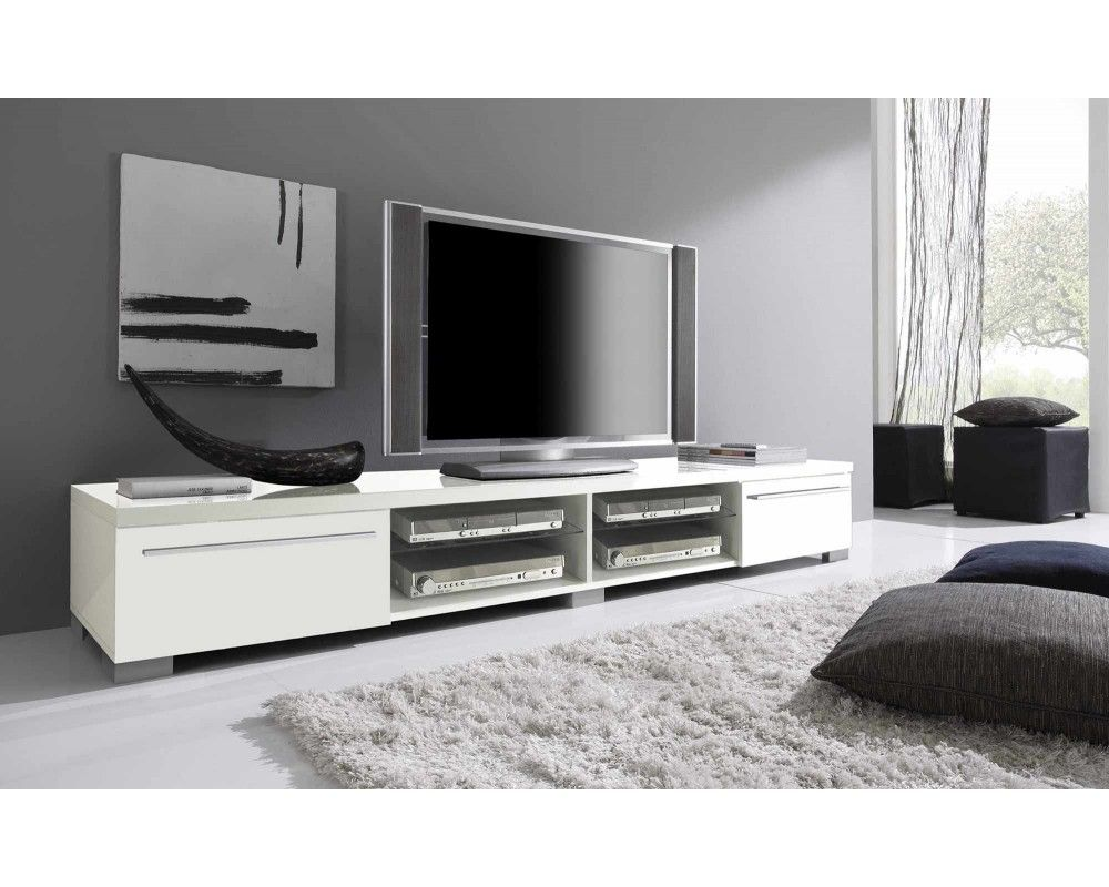 Etonnant Meuble Tv Grand Decoration Francaise Tvs Flat Screen