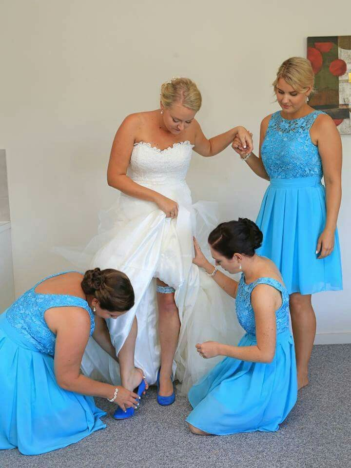 Such cute bridesmaid dresses! Id just change the color (: