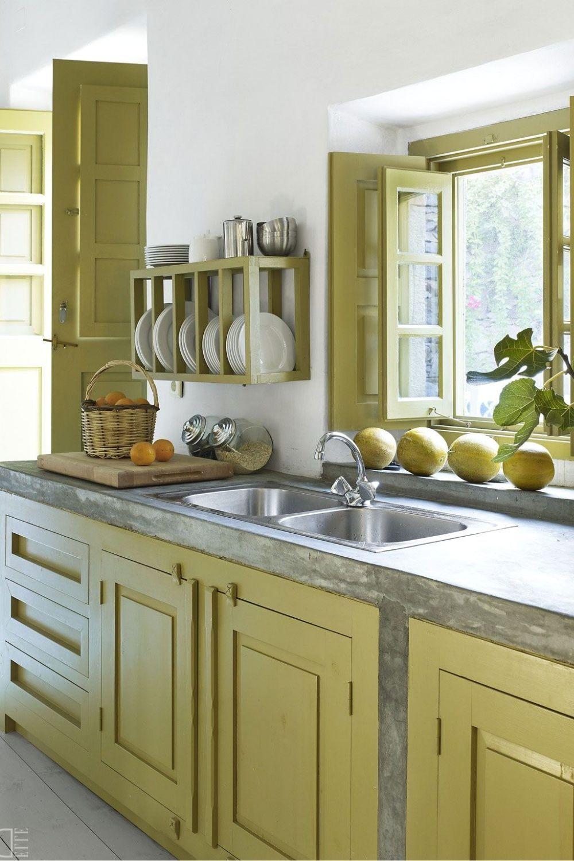 13 How To Make Farmhouse Kitchen Design Ideas To Give You Beautiful Kitchen Design 792 Kitch Kitchen Interior Outdoor Kitchen Countertops Kitchen Design Small
