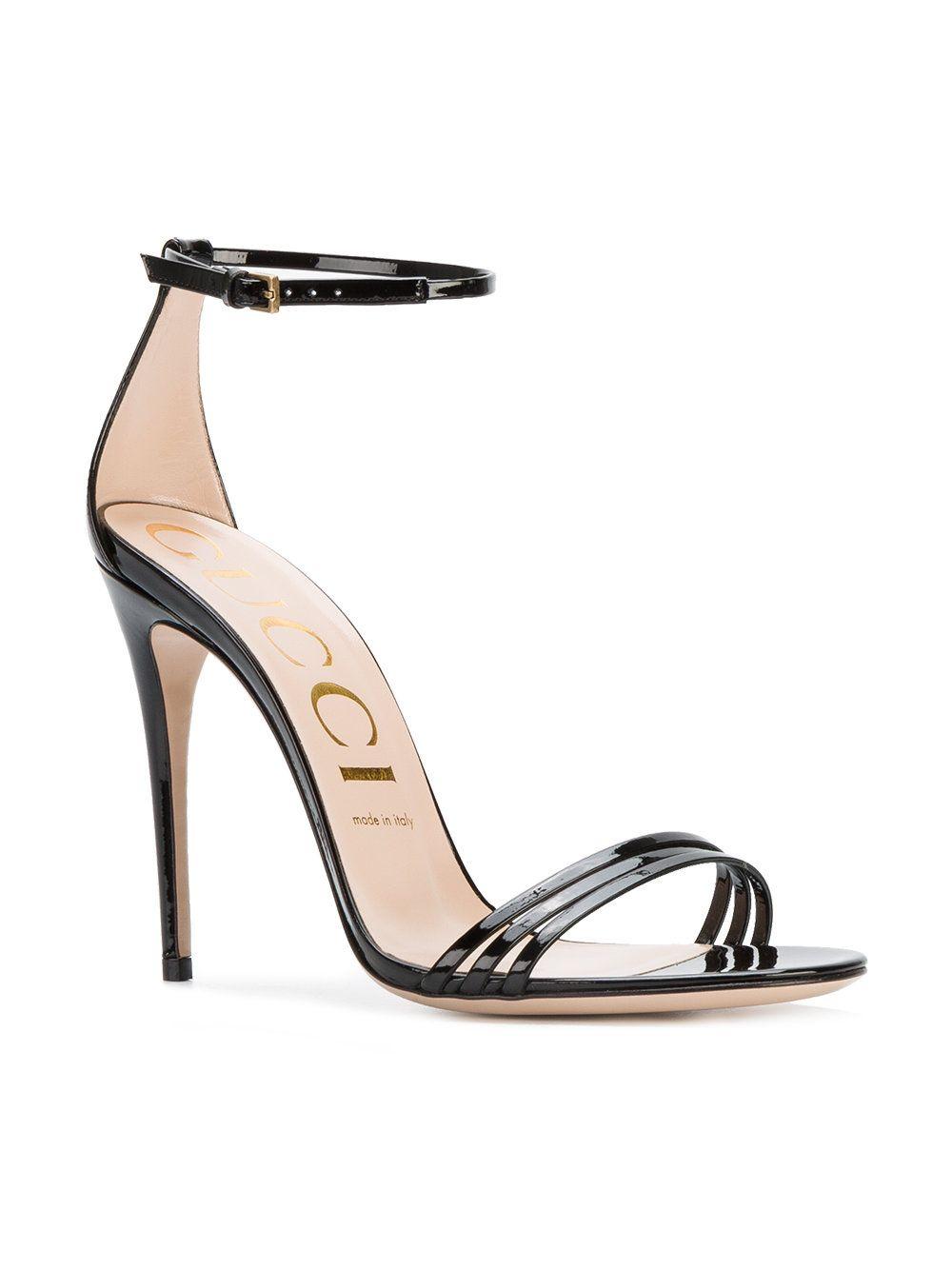 292bbed9c22 Gucci Minimal Stiletto Sandals - Farfetch