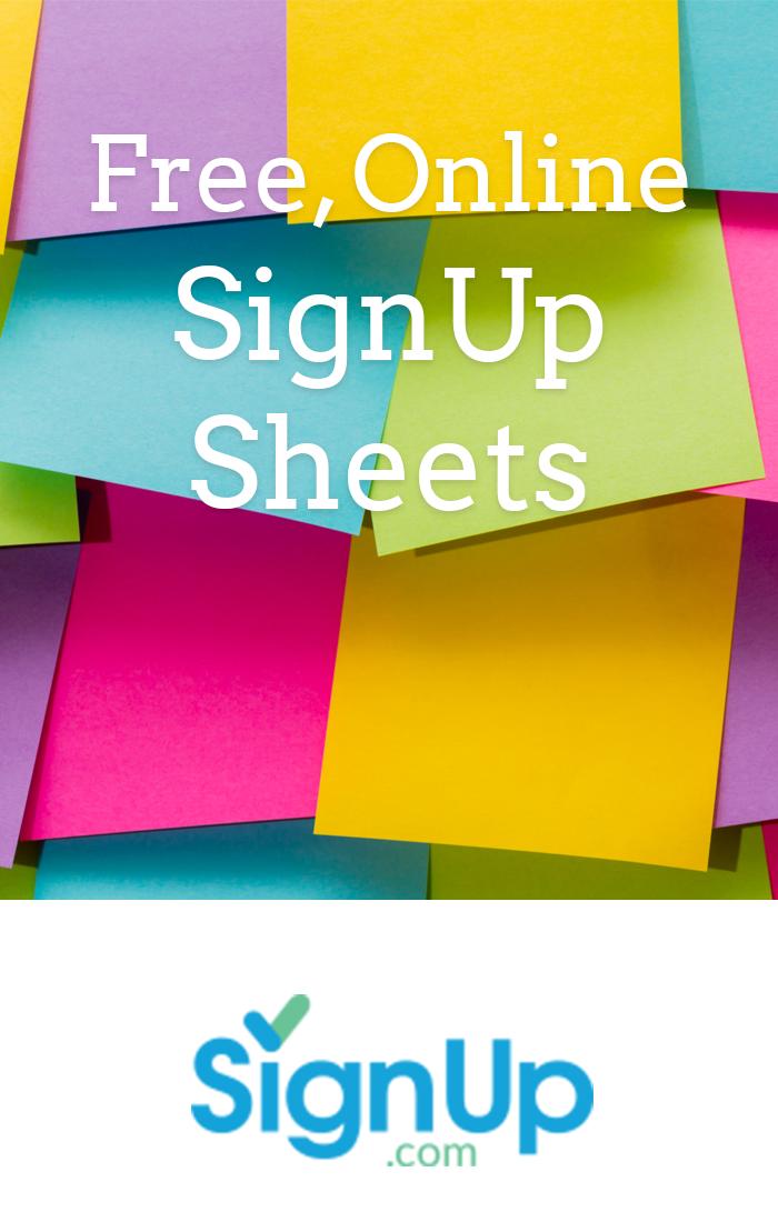 make free and easy online calendar sign up sheets free volunteer