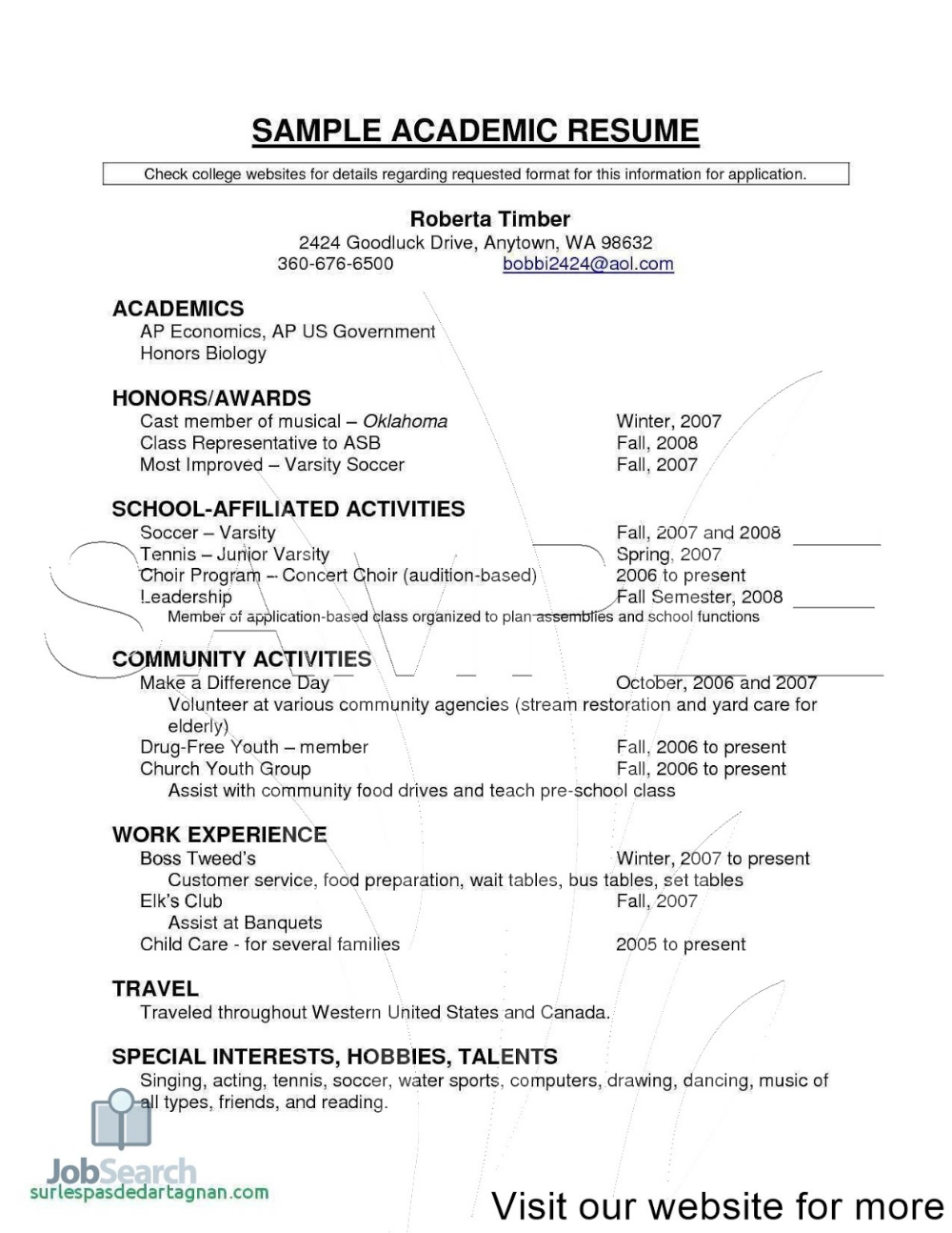 resume writing for high schoolers resume objectives for