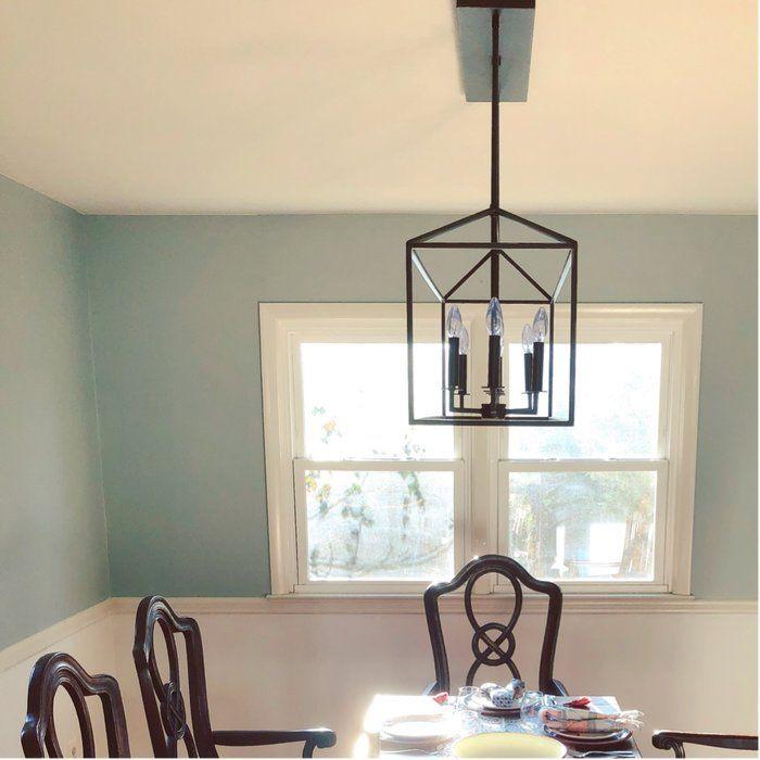 best website fc4ae b6370 Odie 8-Light Kitchen Island Geometric Pendant   Kitchen ...