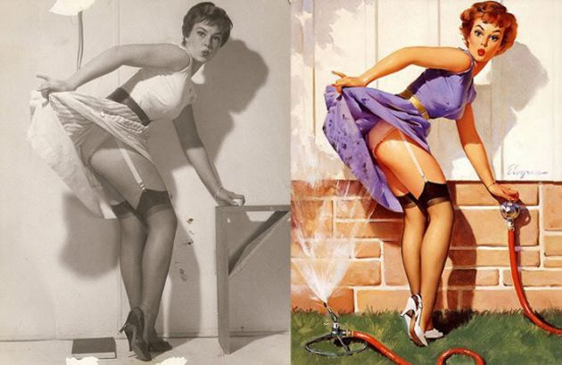 gil elvgren pin up girls | gil-elvgren
