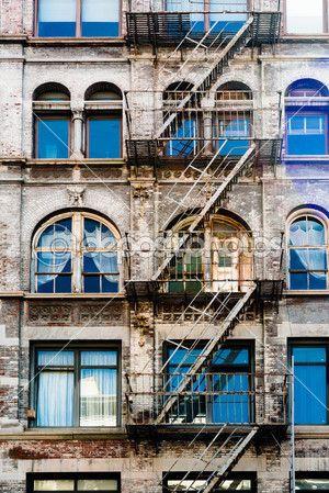 Belle façade de new york — Photographie franky242 © #34571839
