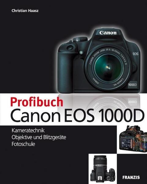 Die Canon EOS 1000D ist die erste Wahl für alle Um- und Einsteiger in die SLR-Fotografie. Durch ihre einfache Handhabung und tolle Bildqualität befriedigt die EOS 1000D nicht nur die Bedürfnisse von absoluten Neulingen. Auch fortgeschrittene Amateurfotografen und Menschen, die im Beruf öfter eine Digitalkamera benötigen, sollten die EOS 1000D beim nächsten Kamerakauf auf der Rechnung haben. Dieses Buch stellt Canons Erfolgskamera en détail vor und zeigt, wie Sie das Potenzial der neuen Einsteige