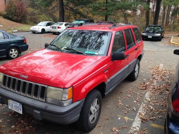 1995 Jeep Grand Cherokee Only Today