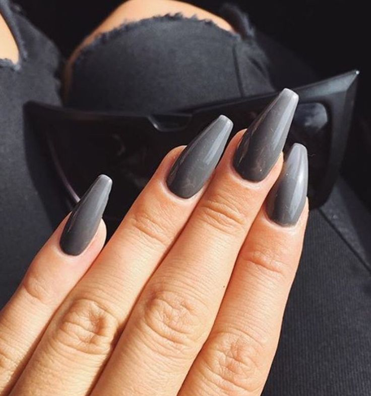 Grey coffin nails google search nails pinterest coffin nails grey coffin nails google search solutioingenieria Image collections