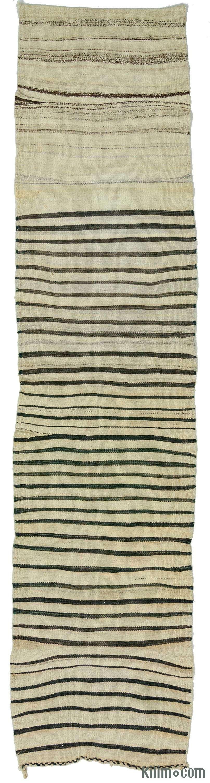K0010387 Vintage Turkish Kilim Runner | Kilim Rugs, Overdyed Vintage Rugs, Hand-made Turkish Rugs, Patchwork Carpets by Kilim.com