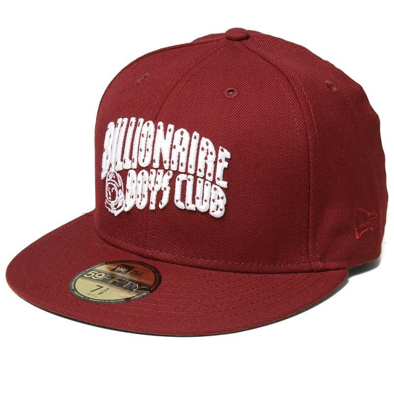 83d211e7f92f4 Billionaire Boys Club Arch Logo New Era Cap (Red   White)