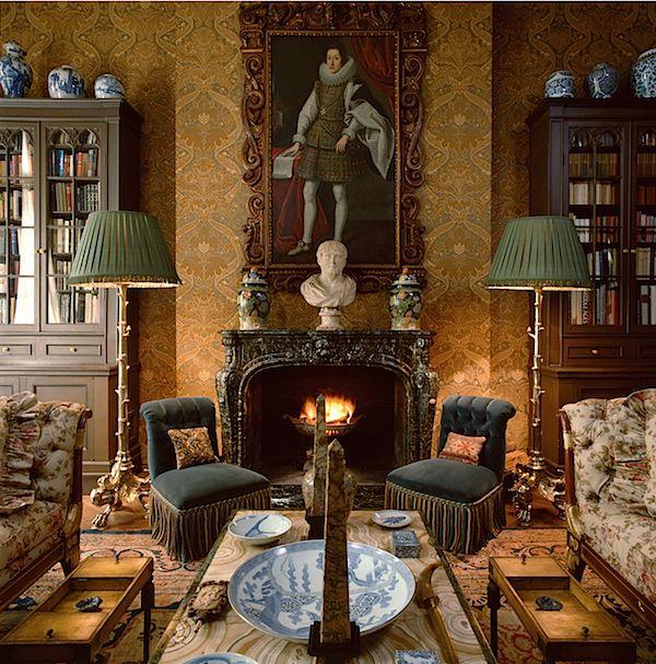Geoffrey Bennison Master Decorator English Decor Interior House Interior