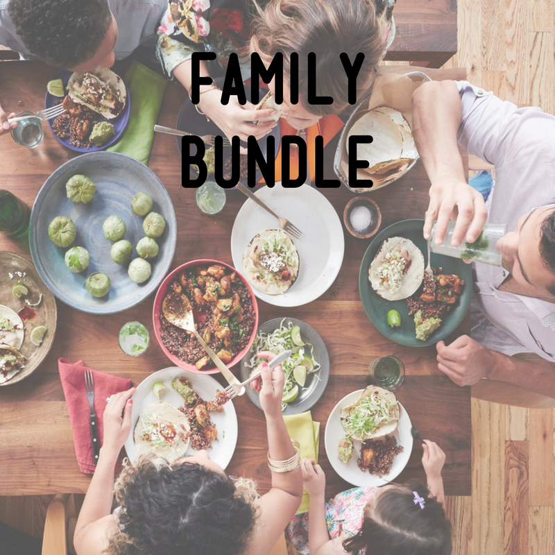 Healthy vegan meals for the whole family - ready to heat and enjoy!