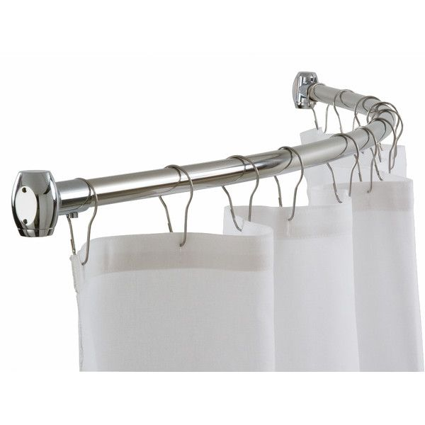 60 Curved Shower Curtain Rod Round Shower Curtain Rod Shower