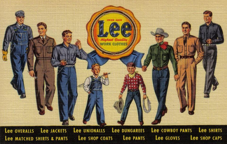 Lee Work Clothes.