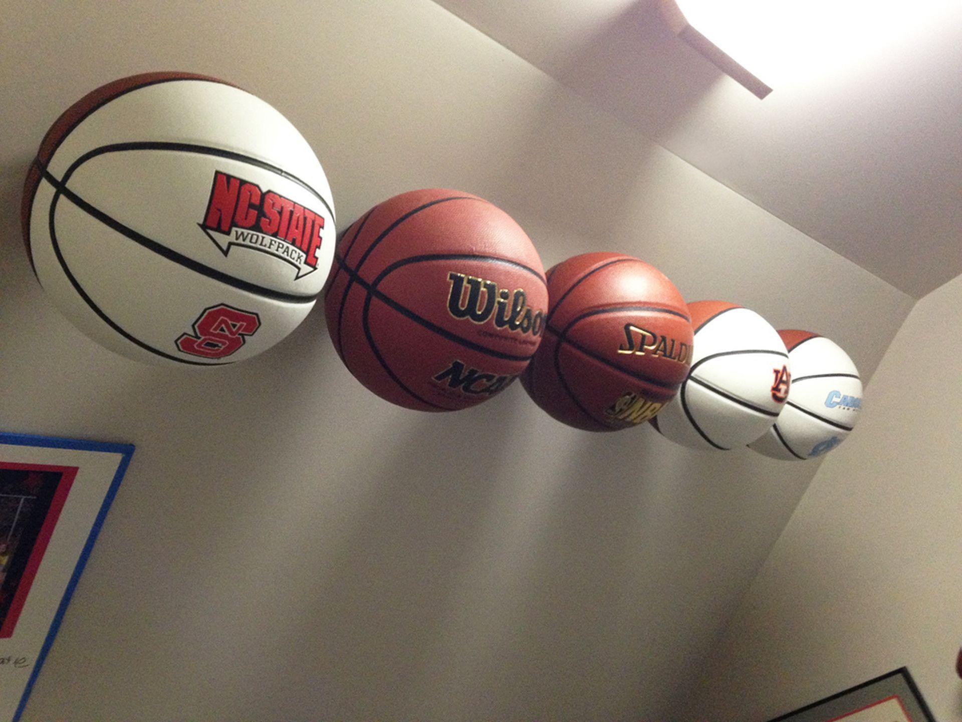 Invisi Ball Wall Mount Basketball Dallin Boys