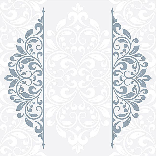 Damask Seamless Pattern Floral Background Floral Background Flower Graphic Design Floral Border Design